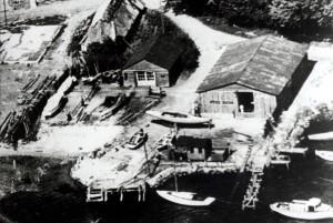 Walsteds Baadeværft i 1950
