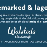 6. april stumpemarked &amp; lagersalg