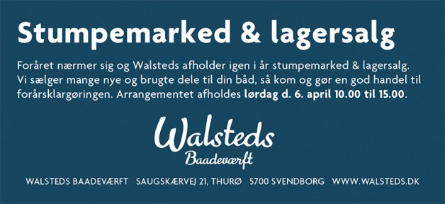 6. april stumpemarked & lagersalg
