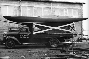 Drage bygget i 1956, klar til aflevering