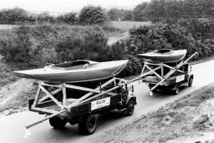 Drager  bygget i 1956 og efterfølgende eksporteret til England