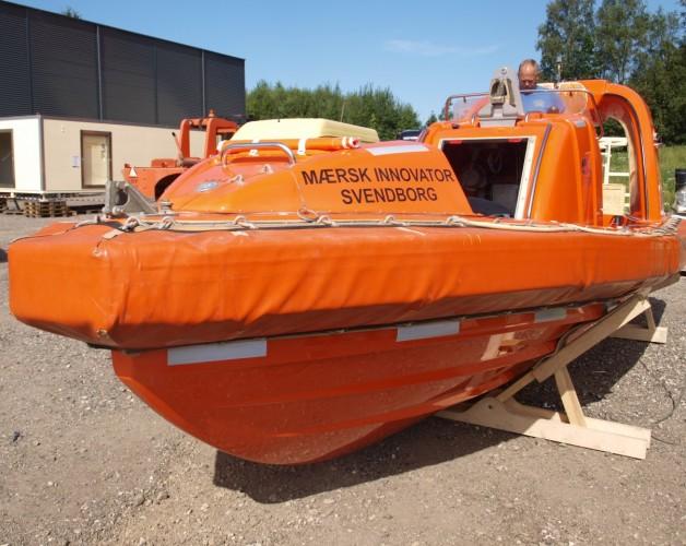 Redningsbåde MOB – Innovator & Giant